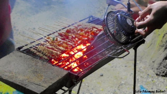 Barbeque, the Samal way.